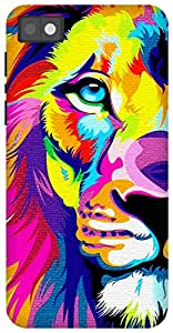 The Racoon Grip Eye of the Lion hard plastic printed back case for Blackberry Z10