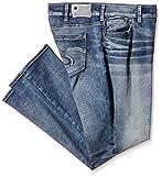SILVER JEANS Damen Straight Leg Jeanshose Suki Mid, Gr. W38/L32 (Herstellergröße: 18), Blau (Indigo SIB128)