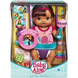 Baby Alive Wets And Wiggles - Brunette