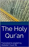 img - for The English Translation of The Holy Qur'an book / textbook / text book