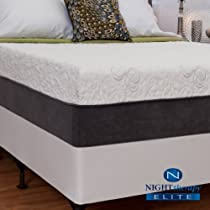 "Hot Sale 12"" Night Therapy NuRest® Better Than LatexTM Pressure Relief Mattress - Full"