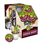Sollo Cup for Keurig K-Cup Brewers, 96 count (4 pack x 24) - PICK YOUR FLAVOR (French Roast)
