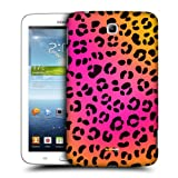Head Case Designs Pink Leopard Mad Prints Protective Snap-on Hard Back Case Cover for Samsung Galaxy Tab 3 7.0 P3200 T210 WiFi