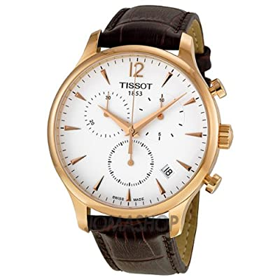 Tissot Tradition Classic Chronograph Rose Gold-plated Mens Watch T0636173603700 from Tissot