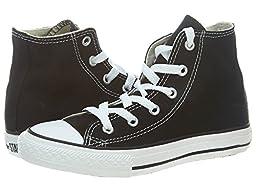 Converse Yths Chuck Taylor All Star Hi Black Little Kids3J231 Style: 3J231-BLACK Size: 1.5 C US