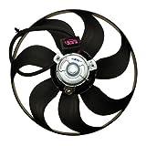 Radiator Cooling Fan AUDI A3 8L 8L1 1.6 1.8 1.9 S3 1996-, TT 8N3 1.8 T 3.2 VR6 98-06, SEAT AROSA 6H 1.0 1.4, CORDOBA MK2; IBIZA MK3 1.4 16V 02-07, LEON MK1 1.4 1.6 1.8 1.9 99-06, TOLEDO MK2 1.4 1.6 1.8 1.9 2.3 99-06, SKODA FABIA MK1 1.0 1.4 99-08, OCTAVI