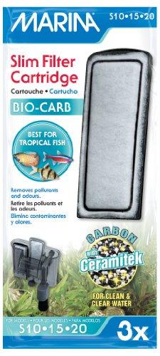 Marina Slim Filter Carbon Plus Ceramic Cartridge - 3-Pack