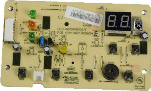 Lg Electronics 6871A20604E Air Conditioner Main Pcb Assembly front-618986