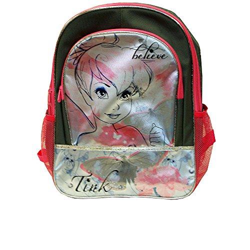 """Disney Fairies Tinkerbell Backpack - 16"""" - Believe - 1"""