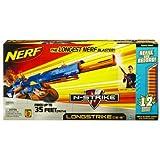 Nerf N-Strike Longstrike CS-6 Dart Blaster - Refill and Reload ~ Nerf
