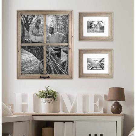 Better Homes and Gardens 4-Opening Rustic Windowpane Collage Frame 3