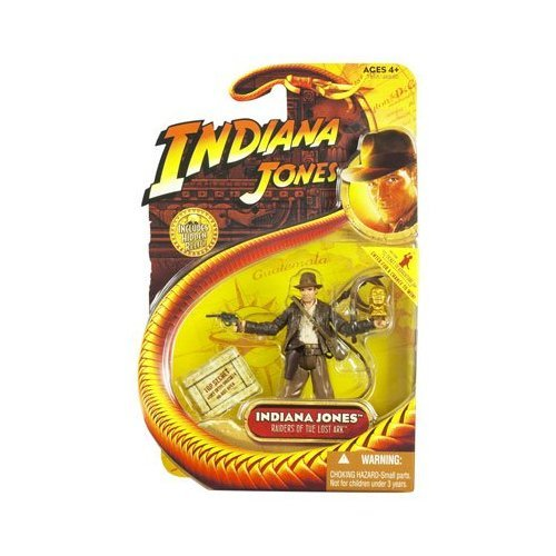 Indiana Jones Figure with Golden Idol 2003 Disney Theme Park Exclusive Raiders of the Lost...