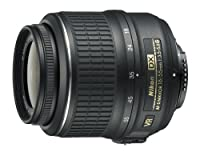 Nikon 18-55mm f/3.5-5.6G AF-S DX VR Nikkor Zoom Lens from Nikon