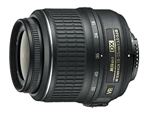 Nikon 18-55mm f/3.5-5.6G Auto Focus-S DX VR Nikkor Zoom Lens