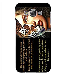 ColourCraft Beautiful Quote with Image Design Back Case Cover for SAMSUNG GALAXY GRAND MAX G720