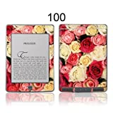 TaylorHe Colourful Decal Vinyl Skin for Amazon Kindle Touch Ultra-slim protection with pretty patterns MADE IN BRITAIN Colourful Roses