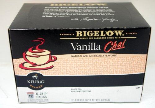 Bigelow Vanilla Chai - 1 Pack - 12 K-Cups - Keurig Brewed