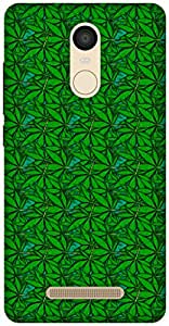 The Racoon Grip Green Field hard plastic printed back case / cover for Xiaomi Redmi Note 3