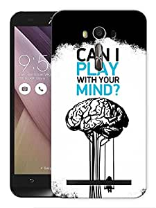 """Humor Gang Can I Play With Your Mind Deep Printed Designer Mobile Back Cover For """"Asus Zenfone 2"""" (3D, Matte, Premium Quality Snap On Case)"""