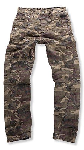 CIPO & BAXX - C-1080 Camouflage - Regular Fit - Uomo / Uomo Jeans pantaloni, taglia pantalone: W34 / L34
