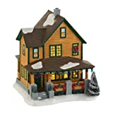Department 56 a Christmas Story Village Ralphie's House, Lit House, 7.24-Inch