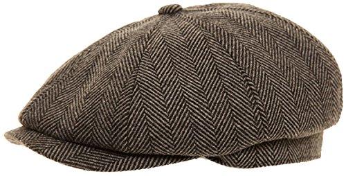 mens-baker-boy-fashion-cap-in-4-colour-choices-60cm-grey-herringbone