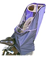 LAKIA(ラキア)子供乗せ自転車用 チャイルドシート レインカバーVer.2 リア用 パープル