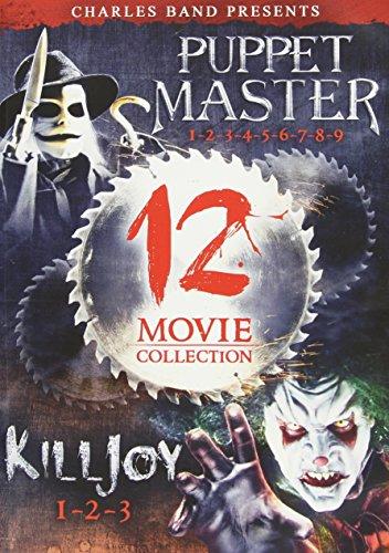 DVD : Puppet Master & Killjoy: Complete Collection (Full Frame, Boxed Set, Slim Pack, 3 Disc)