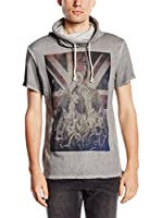 edc by Esprit Sudadera Slim Fit (Gris)