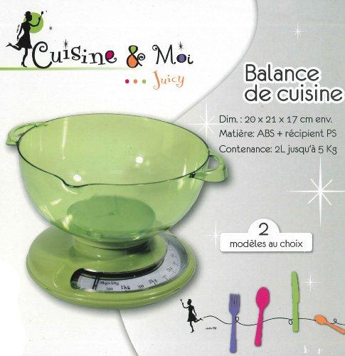Balance de cuisine - Modèle vert
