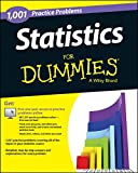img - for Statistics: 1,001 Practice Problems For Dummies (+ Free Online Practice) book / textbook / text book