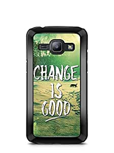 YuBingo Change is Good Designer Mobile Case Back Cover for Samsung Galaxy J1