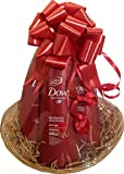 Dove Pro Age Hair and Body Beauty Gift Basket Set for Her
