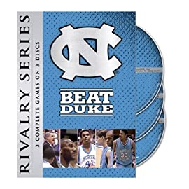 unc beats duke dvd set