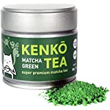 KENKO - Premium Matcha Green Tea Powder - 1st Harvest - Special Drinking Blend for Top Flavor - Best Tasting Ceremonial Grade Matcha Tea Powder - Japanese -30g [1oz]