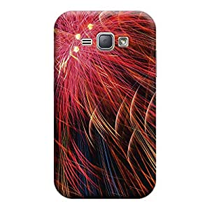 iShell Premium Printed Mobile Back Case Cover With Full protection For Samsung J1 2016 (Designer Case)