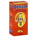 Delsym Cough Suppressant For Children, Orange-Flavored Liquid, 5 oz.