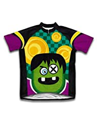 Crazy Eye Short Sleeve Cycling Jersey for Women