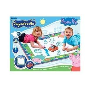 Tomy 71301 Aquadoodle Peppa Pig Mat Amazon Co Uk Toys