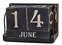 Ohio Wholesale Vintage Perpetual Calendar, Set of 6, from our Everyday Collection