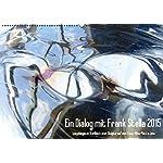 Ein Dialog mit Frank Stella 2015 / AT-Version (Wandkalender 2015 DIN A2 quer): Spiegelungen im Stahlblech einer Skulptur (Monatskalender, 14 Seiten)