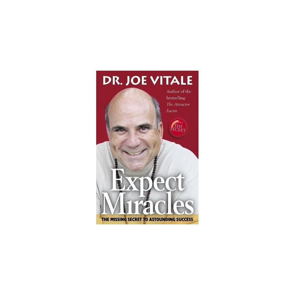 Expect Miracles [Paperback] Joe Vitale Books