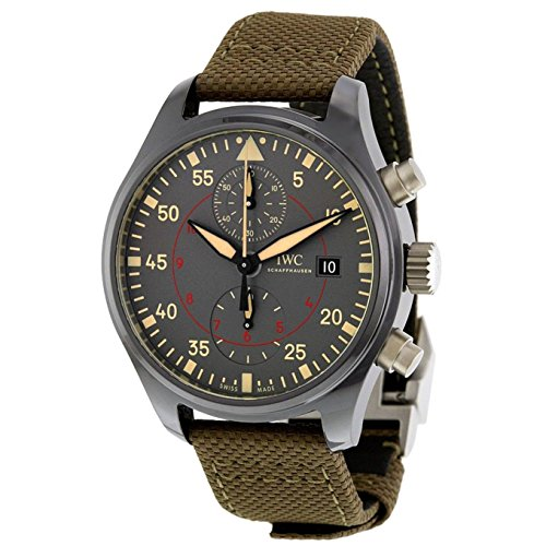 iwc-mens-pilot-44mm-green-leather-band-ceramic-case-sapphire-crystal-automatic-grey-dial-watch-iw389