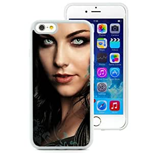 6 case,Unique Design Evanescence Letters Face Hair Eyes White iPhone 6 4.7 inch TPU case cover