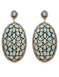 Akshim Multicolour Alloy Earrings For Women - B00NPYBABQ