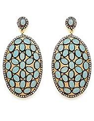 Akshim Multicolour Alloy Earrings For Women - B00NPYBABQ