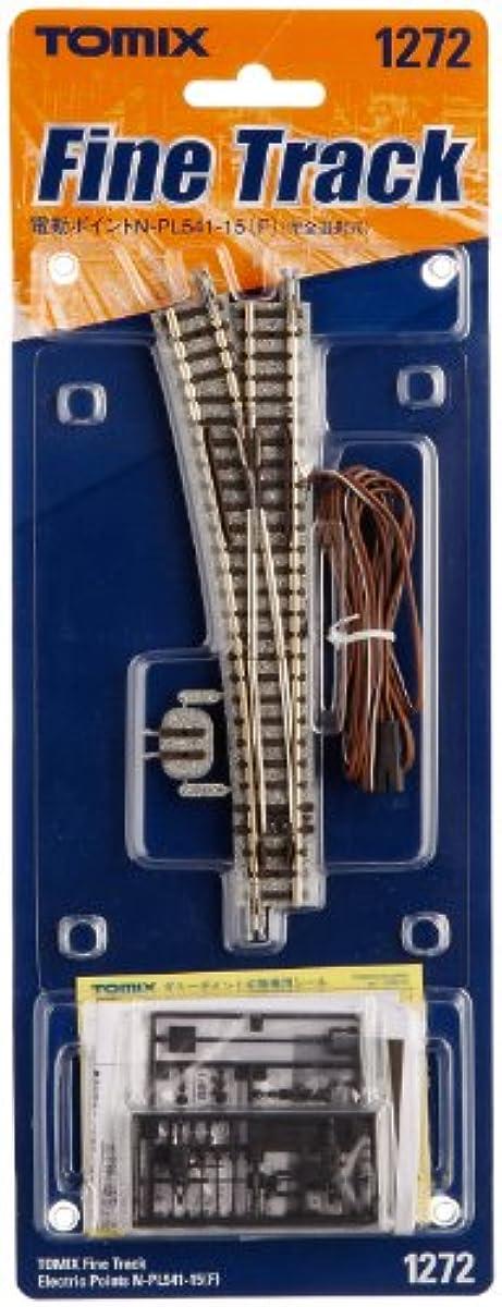 [해외] TOMIX N게이지 전동 포인트 N-PL541-15 F 완전 선택식 1272 철도 모형 용품-012726