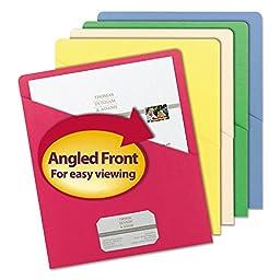 SMD75425 - Smead Slash Pocket Folders