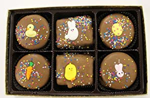 Chocolate Rice Krispie and Oreo Cookie Easter Gift Box