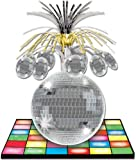 "Disco Ball Centerpiece Party Accessory (1 count) (1/Pkg) - 9"" X 13"""